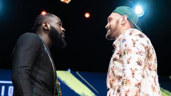 Jadwal Siaran Langsung Tinju Dunia Tyson Fury vs Deontay Wilder Live Indosiar & ESPN, Tak Live TVOne