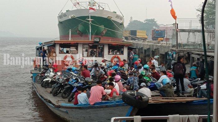 Bangun Pelabuhan Permanen Kapal Feri Penyeberangan Sungai Mentaya Perlu Rp 20 Miliar