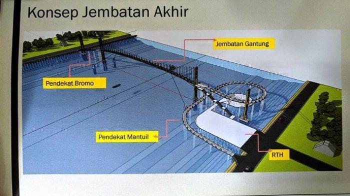 Tahun ini Jembatan Bromo akan Dibangun, Butuh Waktu Pengerjaan 10 Bulan