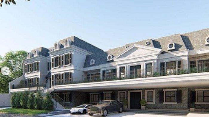 Desain rumah baru Raffi Ahmad dan Nagita Slavina