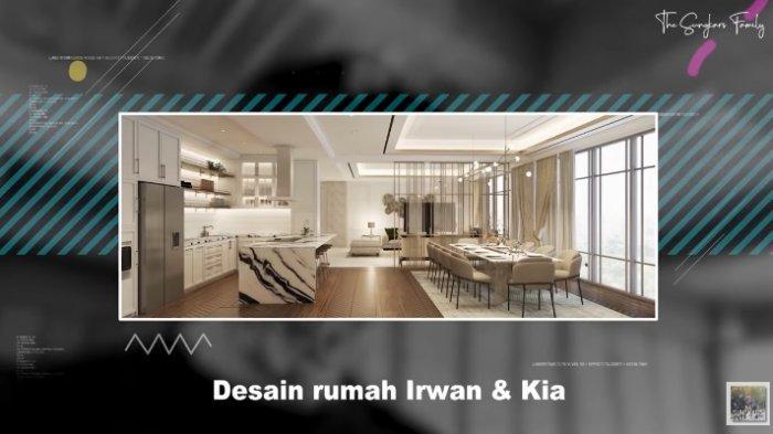 Desain rumah Zaskia Sungkar dan Irwansyah