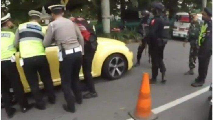 Remaja Pengemudi VW Kuning yang Tabrak Polisi Ditangkap, Motif Terobos Penyekatan Didalami