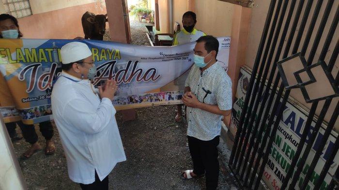 PWI Kalsel Kembali Menerima Hewan Kurban dari Hasnur Group
