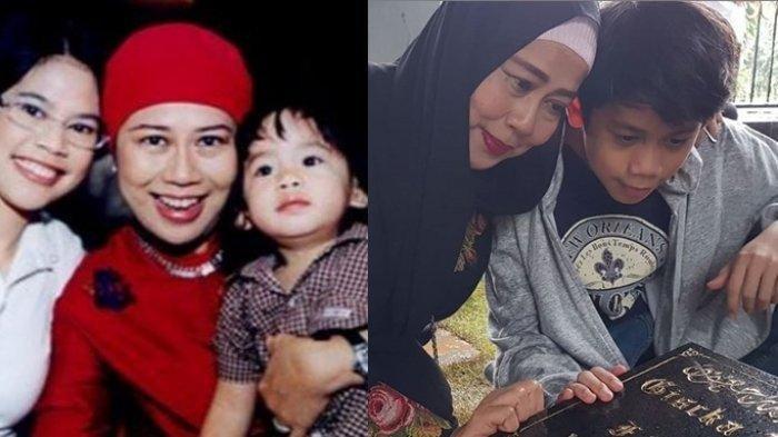 Sosok Cucu Dewi Yull Kini Berubah Jadi Remaja Tampan, Inilah Ramiza yang Dulu Pilu Ditinggal Ibu