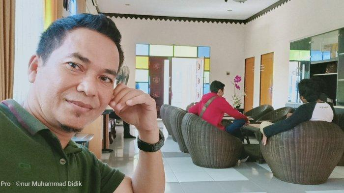 Redaktur Banjarmasinpost.co.id Didik Triomarsidi