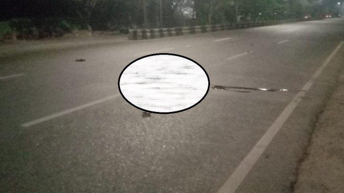 Kecelakaan di Kalsel, Diduga Korban Tabrak Lari di Landasan Ulin Banjarbaru, Aripin Tewas di Tempat