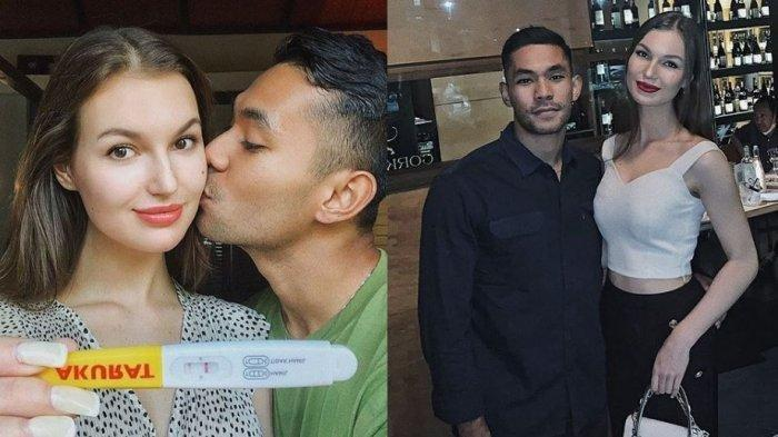 Kondisi Kandungan Polina si Istri Bule Diego Afisyah, Pemeran Gerry di Ikatan Cinta Bakal Jadi Ayah