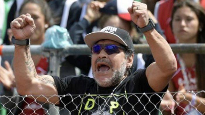 Kondisi Terkini Diego Maradona Pasca Alami Pembekuan Darah di Otak, Sempat Depresi & Akan Operasi