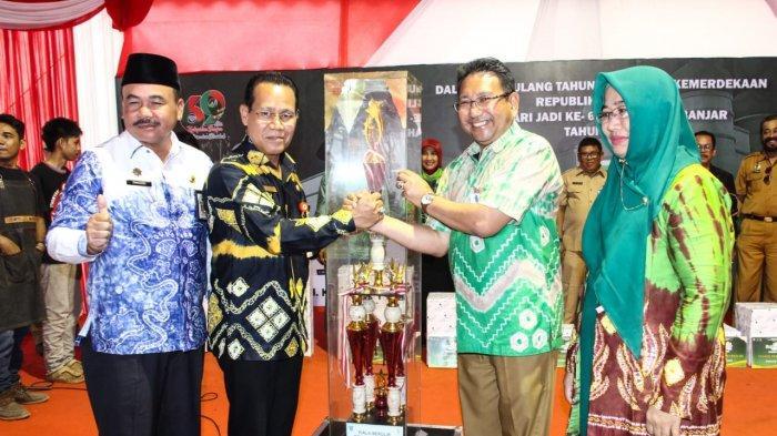 Tampilkan 8 Inovasi ini, Disnakbun Juara Pertama di Banjar Expo 2019