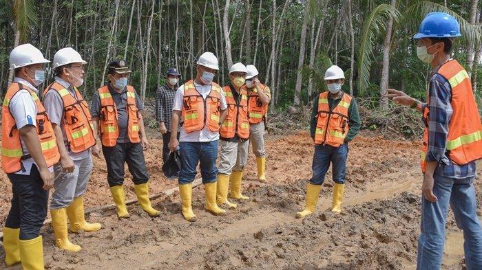 Irigasi Bendungan Kinarum Kabupaten Tabalong Akan Selesai Desember 2021