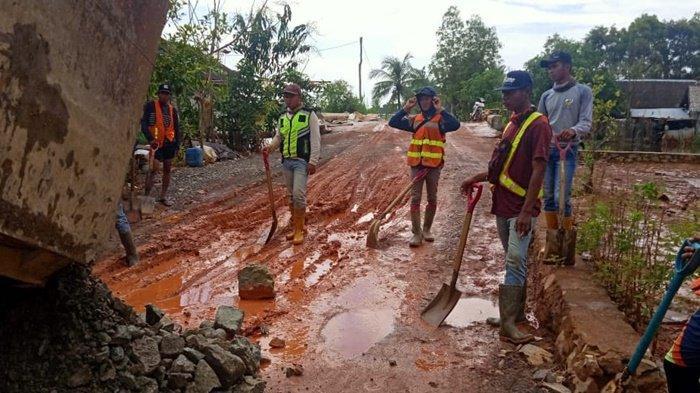 Mesjid Tak Lagi Tergenang Banjir, Warga Handil Negara Kecamatan Kurau Tala Gelar Haul Guru Sekumpul