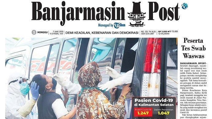 OTG di Banjarmasin Jalani Tes Swab Massal, Peserta Sempat Was-was
