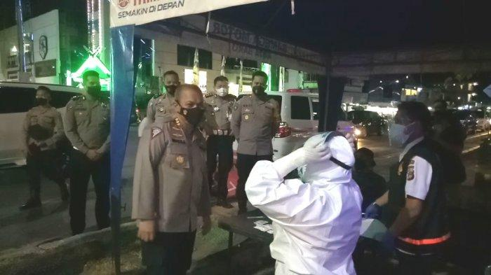 Dirlantas Polda Kalsel Cek Kesiapan Petugas di Pospam Kotabaru