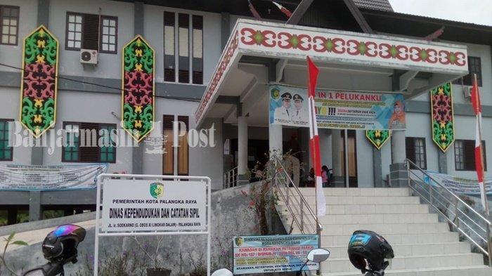 Urus Dokumen Kependudukan di Disdukcapil Palangkaraya Dibatasi Maksimal Sehari 50 Orang