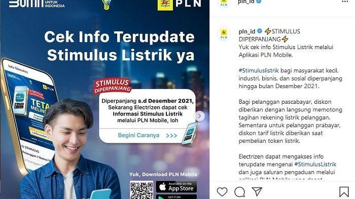Diskon Listrik PLN diperpanjang hingga Desember 2021