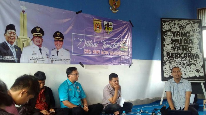 KNPI Banjarbaru Adakan Diskusi Tematik, Masalah Ini yang Dikupas