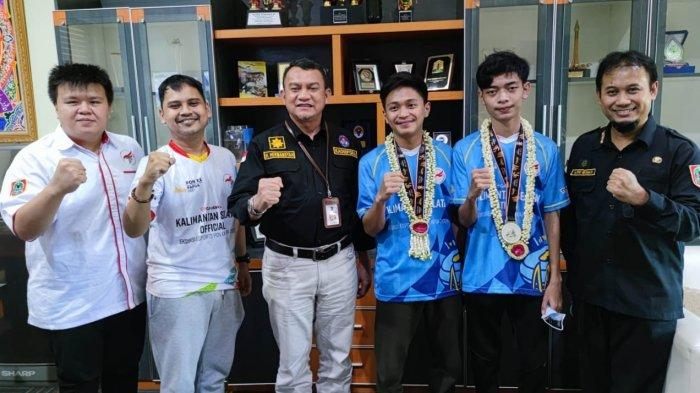 Bawa Pulang Medali Perak Eksebisi PON XX Papua, Atlet PES Kalsel Dapat Bonus dari Dispora Kalsel