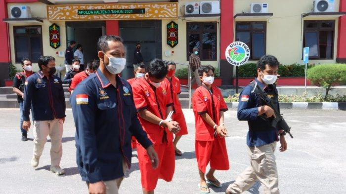Narkoba Kalteng, Tahanan Lapas Kasongan Kabur, Ditangkap Jadi Kurir Bawa 15,34 Gram Sabu