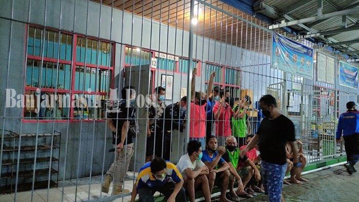 Rumah Tahanan Kelas IIB Kandangan HSS Dirazia, Temukan Sendok dan Sikat Gig