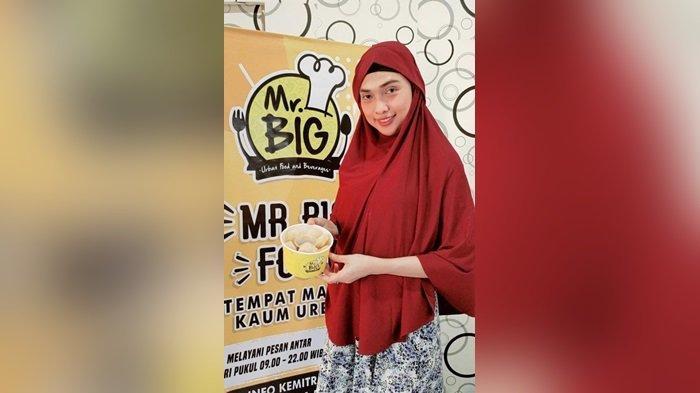 Pandemi Covid-19, DJ Vie Beralih Profesi Jadi Pengusaha Makanan Siap Saji di Banjarmasin