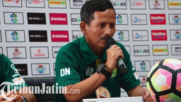 Djadjang Nurdjaman Didepak Persebaya, Bejo Sugiantoro Langsung Arsiteki Bajul Ijo Hadapi Arema FC