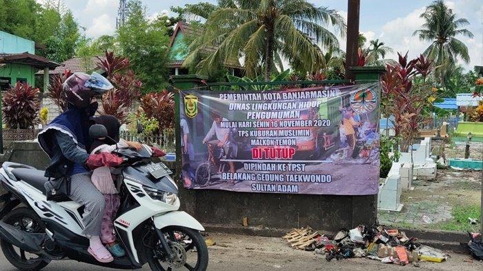 TPS Dekat Makam Pangeran Antasari Banjarmasin Resmi Ditutup Mulai Senin Ini