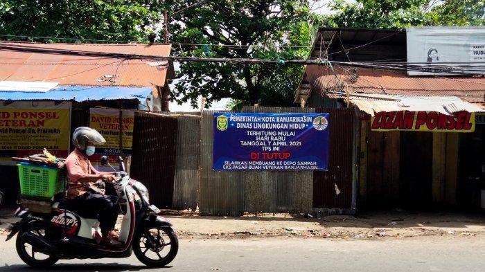 Resmi, Pemko Banjarmasin Kembali Menutup 2 TPS di Jalan Veteran