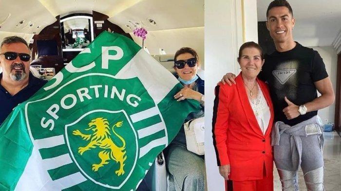 Ibu Ronaldo Pamer Bendera Sporting Jelang Final Coppa Italia Juventus vs Atalanta, Sinyal Pindah?