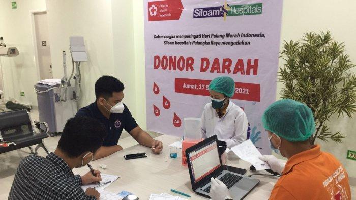 Rumah Sakit Siloam Gelar Donor Darah Bantu Stok Darah PMI Palangkaraya