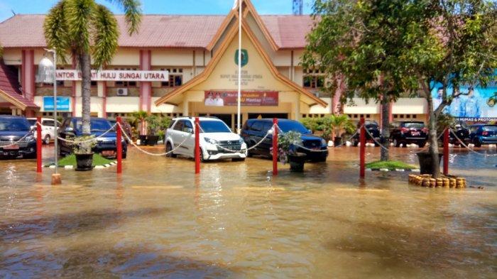Memasuki Kemarau HSU Siap Bangun Penghalang Banjir
