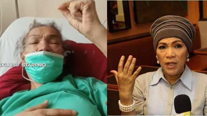 Kesehatannya Mulai Membaik Dorce Gamalama Bikin Video, Ucapkan Terima Kasih ke Raja Dangdut