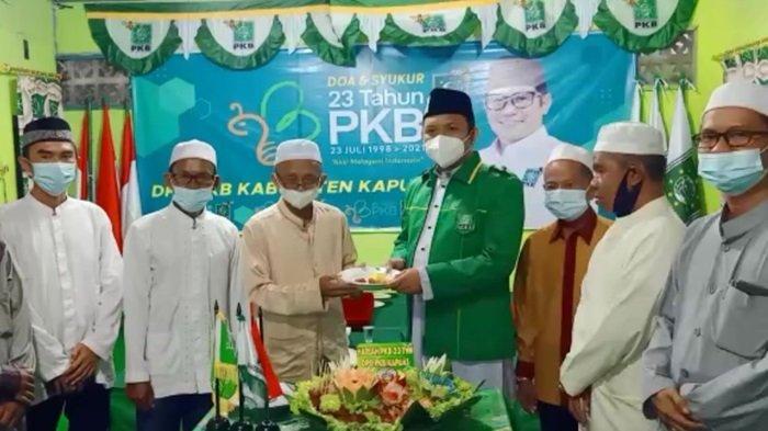 DPC PKB Kapuas Gelar Syukuran Peringati Harlah ke-23 di Kantor Baru Kota Kualakapuas