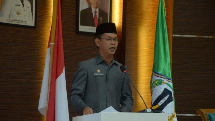 Gelar Rapat Paripurna, DPRD Batola Sahkan Dua Rapeda Ini