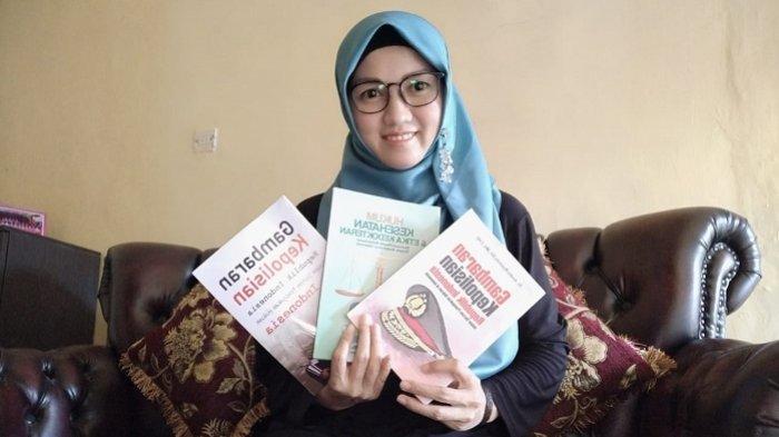 Dua Tahun Hasilkan Tiga Buku, Ini Judul Buku Karya Andin