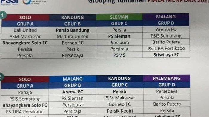 Jadwal Piala Menpora 2021 Jelang Liga 1 dan Liga 2, Siaran Langsung TV Nasional?