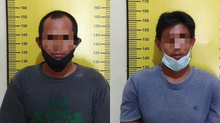 Satresnarkoba Polres Tabalong Amankan Kakak Beradik dan 17 Paket Sabu