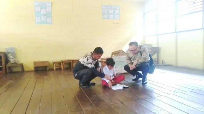 Berlokasi Dekat Kantor Bupati, SDN 1 Hilir Muara Kotabaru Kurang Perhatian, Bertahun-tahun Lesehan