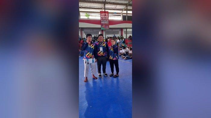 Popda Kalsel 2021 : Karateka Banjarmasin Raih Tiga Emas, Dua Dari Nomor Kata, Satu Kumite