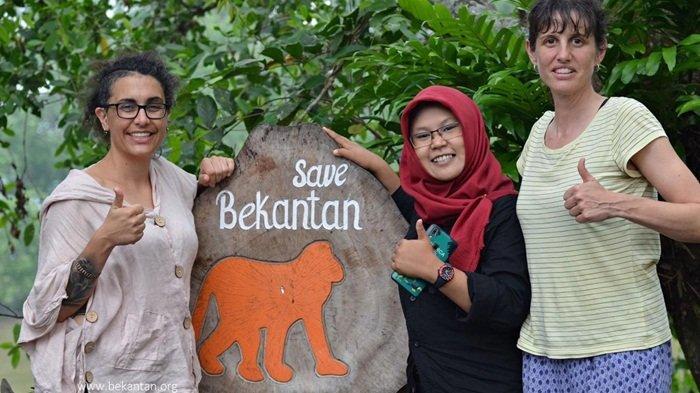 Primatolog Spanyol Terpukau dengan Stasiun Riset Bekantan di Pulau Curiak Barito Kuala