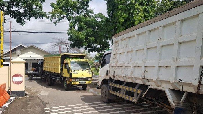 Tiga Mobil Alami Tabrakan Beruntun Diamankan di Polres Tapin, Begini Kata Kades Suato Tatakan
