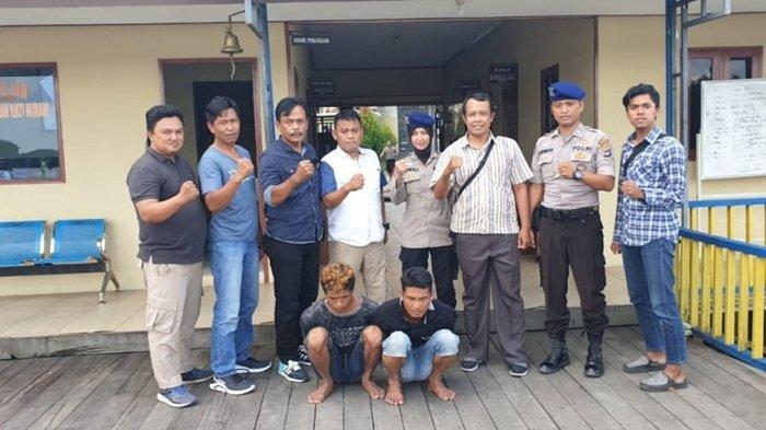 Dua Tersangka Pencuri Sarang Walet di Pulau Petak Kapuas, Ditangkap di Banjarmasin