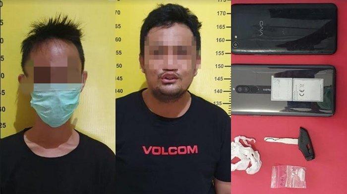 Bawa Paketan Sabu ke Tabalong,Residivis Narkotika asal HSU Ditangkap Bersama Rekan