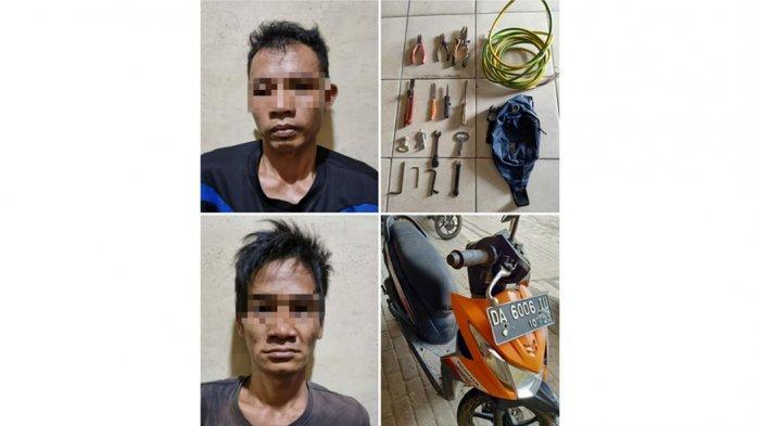 Pencurian di Kalsel, Hukuman 5 Tahun Penjara Menanti Dua Pencuri Kabel di Banjarbaru