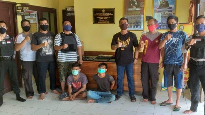 Penggondol Alat Elektronik Madrasah Dibekuk Polsek Kahayan Kuala