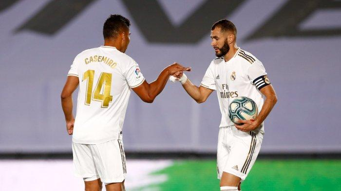 LINK SCTV! Live Streaming Atalanta vs Real Madrid di TV Online Liga Champions, Karim Benzema Absen
