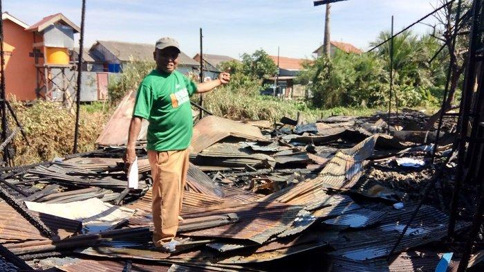 BREAKING NEWS - Gara-gara Ijai Bakar Rumahnya, 2 Rumah di Kompleks Cinta Mulia Batola Hangus