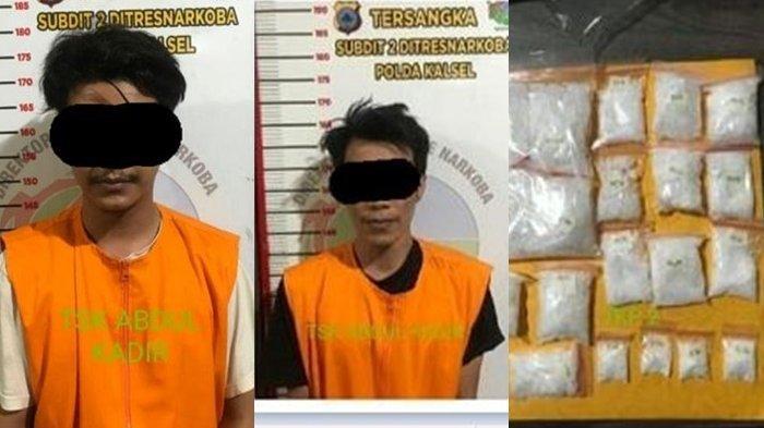 Narkoba Kalsel : Simpan Puluhan Paket Sabu di Kamar Kos, Warga Banjarbaru Diciduk Polisi Polda