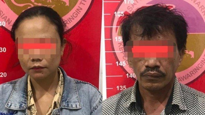 Narkoba Kalteng, Tersangka di WC Saat Anggota Polres Kotim Datang Bersama Ketua RT