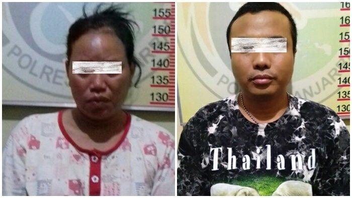 Satresnarkoba Polres Banjarbaru Bekuk Mama Pia dan Tetangganya Terkait Peredaran Sabu