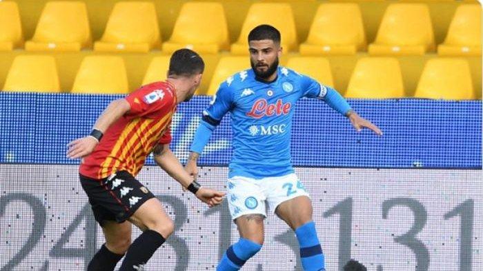Susunan Pemain Atalanta vs Napoli Coppa Italia Live TVRI & Usee TV, Lorenzo Insigne Main